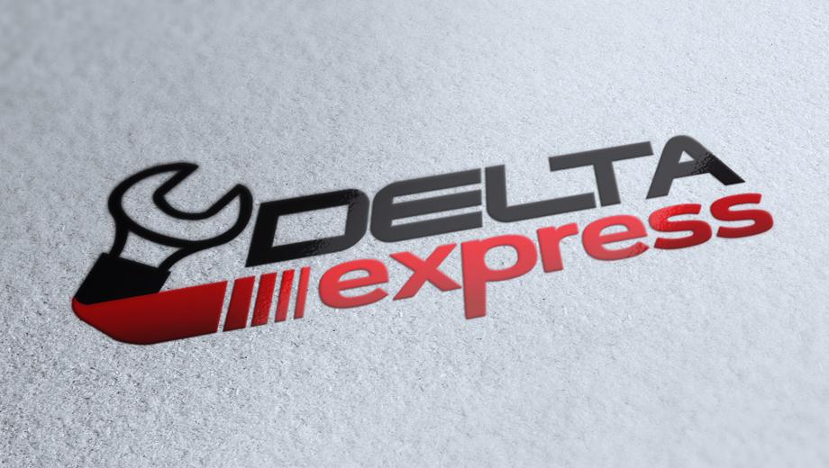 Delta Express Logo