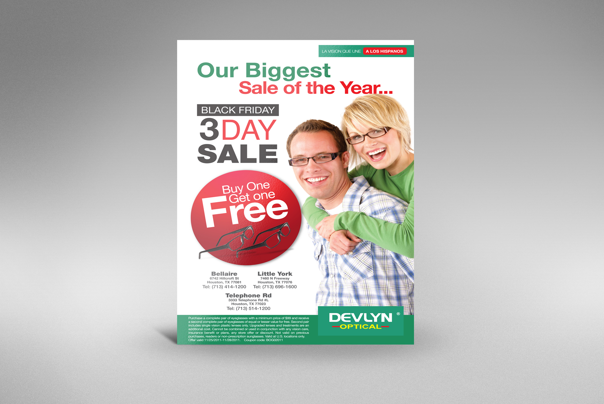 Devlyn Optical Sale